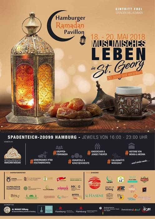 "Bu Ramazanda'da ""Hamburger Ramadan Pavillon"" etkinliğindeyiz"
