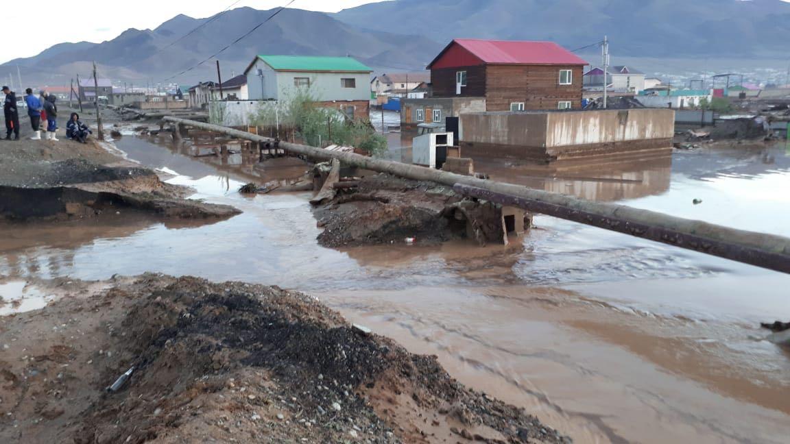 """WEFA Uluslararası İnsani Yardım Organizasyonu Moğolistan'da meydana gelen sel felaketi nedeniyle """"Acil Yardım"""" kampanyası başlattı."""