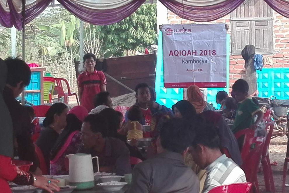 WEFA Uluslararası İnsani Yardım Organizasyonu 2017 yılının sonunda hayata geçirdiği proje ile gençlerin yüzünü güldürmeye devam ediyor. Haziran ayında ihtiyaç sahibi genç bir çiftin düğün yemeğini organize eden WEFA, gençleri mutlu günlerinde yalnız bırakmadı.