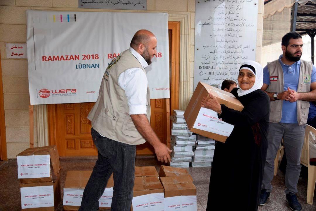 """WEFA Uluslararası İnsani Yardım Organizasyonu """"Ramazan Paylaştıkça Güzel"""" sloganı ile gerçekleştirdiği 2018 Ramazan Kampanyası ile yine çok sayıda insanın yüzünü güldürdü. 28 ülkede gerçekleştirilen kampanya kapsamında 6 bin 767 aileye kumanya dağıtımı gerçekleştirildi."""