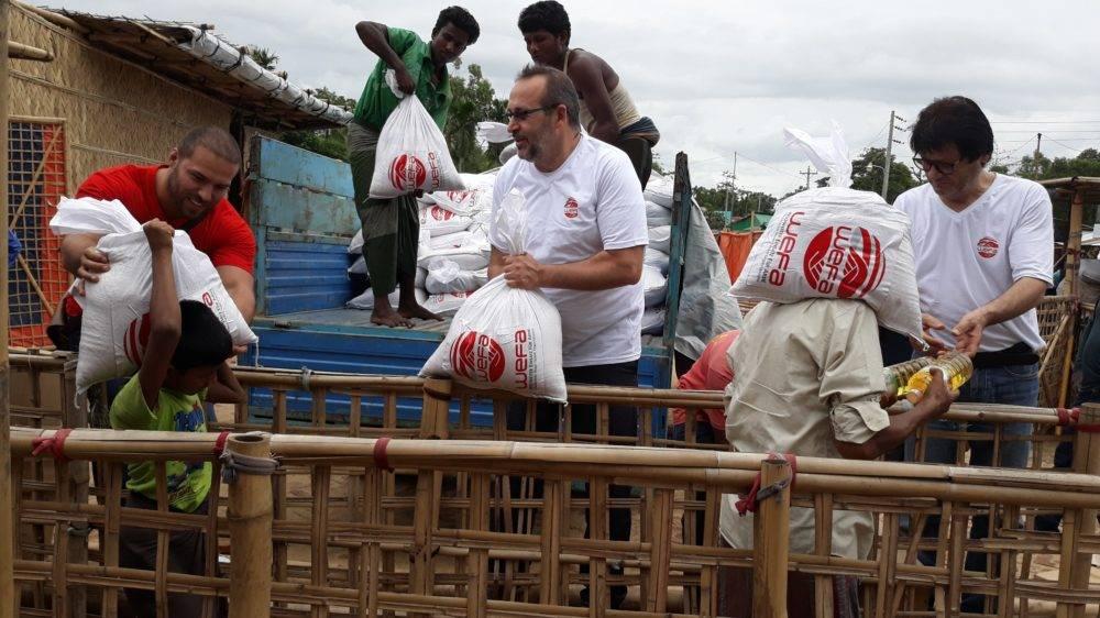 Ramazanda yine çok sayıda insanın yüzünü güldüren WEFA Uluslararası İnsani Yardım Organizasyonu 6.600 aileye kumanya dağıttı.