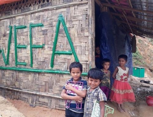 Bangladeş WEFA Köyü'nde İlk 100 Ev Tamamlandı