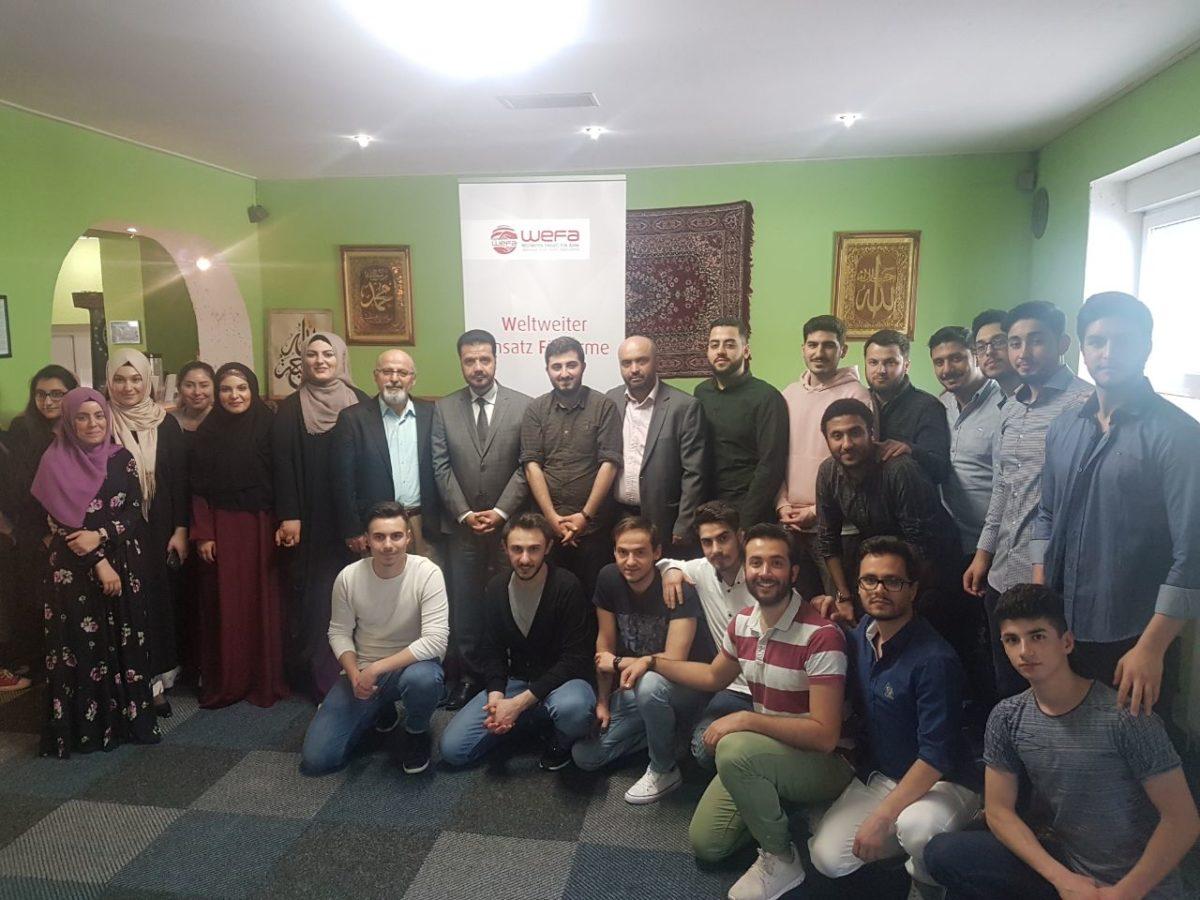 Genç WEFA bu yılın ilk toplantısını 22 Nisan'da Duisburg'ta gerçekleştirdi. Toplantıda Genç WEFA'nın 2018 yılı projelerinden bahsedilirken, 2017 yılında yapılan çalışmaların değerlendirmesi de yapıldı.