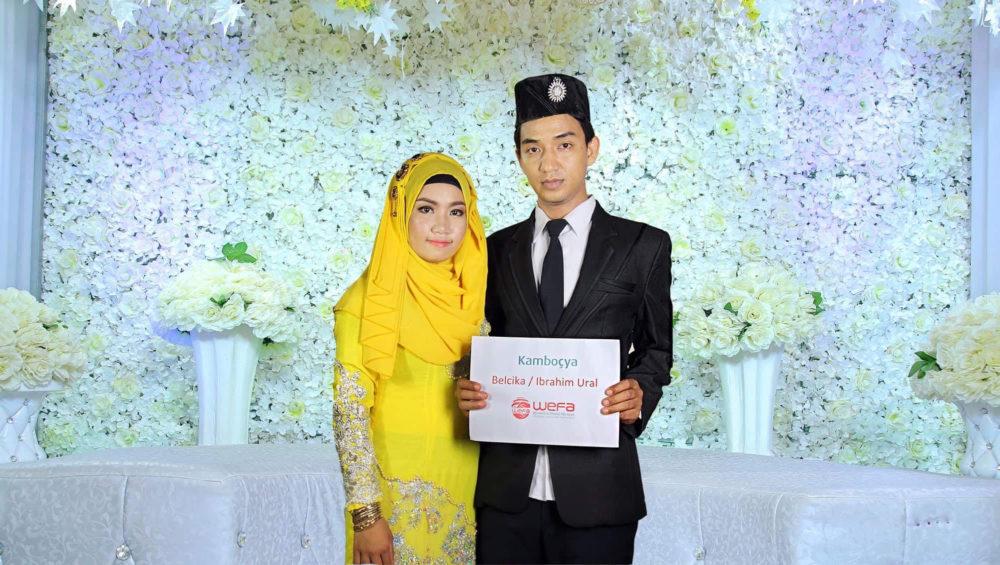 Kambodscha Hochzeit Wedding Dügün Yetim Waise