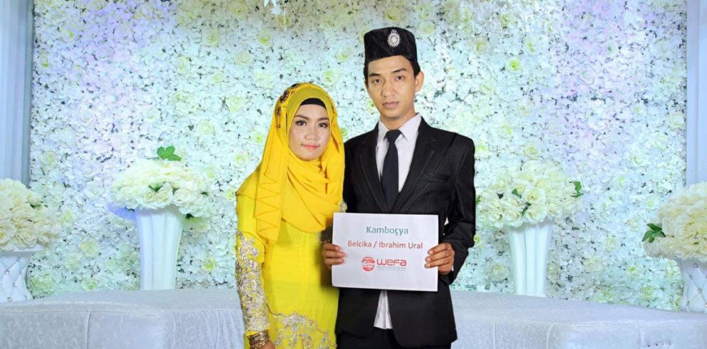 Hochzeit von Waisen