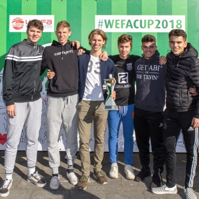 WEFA-CUP 2018 - Soccer-Treff Pesch - Pokal für Fairplay