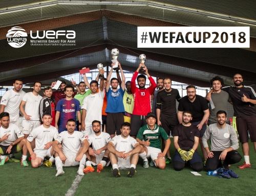 Genç WEFA, Mülteciler İçin Futbol Turnuvası Düzenledi