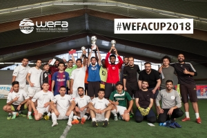 WEFA-CUP 2018 - Genç WEFA, Mülteciler İçin Futbol Turnuvası Düzenledi