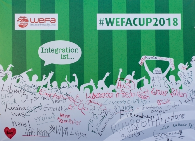 WEFA-CUP 2018 - Soccer-Treff Pesch - Integration