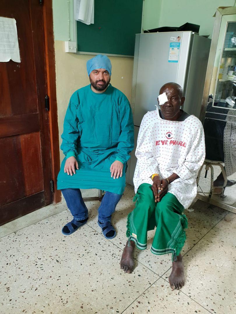 Tanzanya'da WEFA 200 katarakt ameliyat gerçekleştirdi