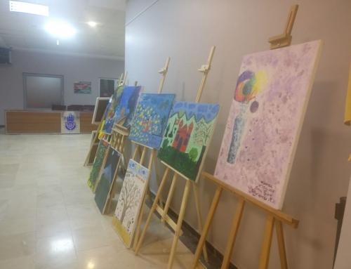 """Ausstellung """"Traumbilder"""" – Wir bewundern das künstlerische Talent der Waisenkinder"""