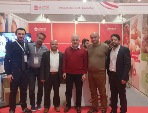 WEFA nahm an der 3. internationalen NGO-Messe in Istanbul teil