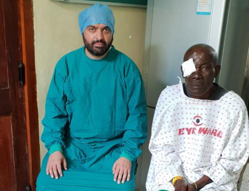 Grauer Star-Operationen in Tansania: 200 Erkrankte erlangen wieder ungetrübte Sicht