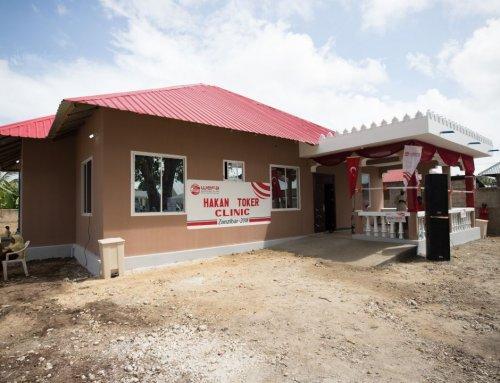 Ein Gesundheitszentrum wurde in Tansania eröffnet