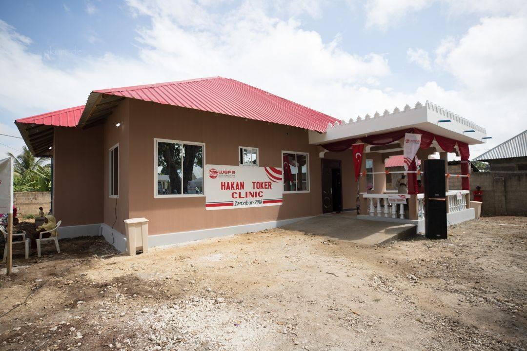 WEFA'dan Tanzanya'ya Sağlık Ocağı