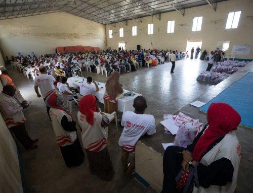 Waisen in Tansania wurden vonuns zahlreich beschenkt