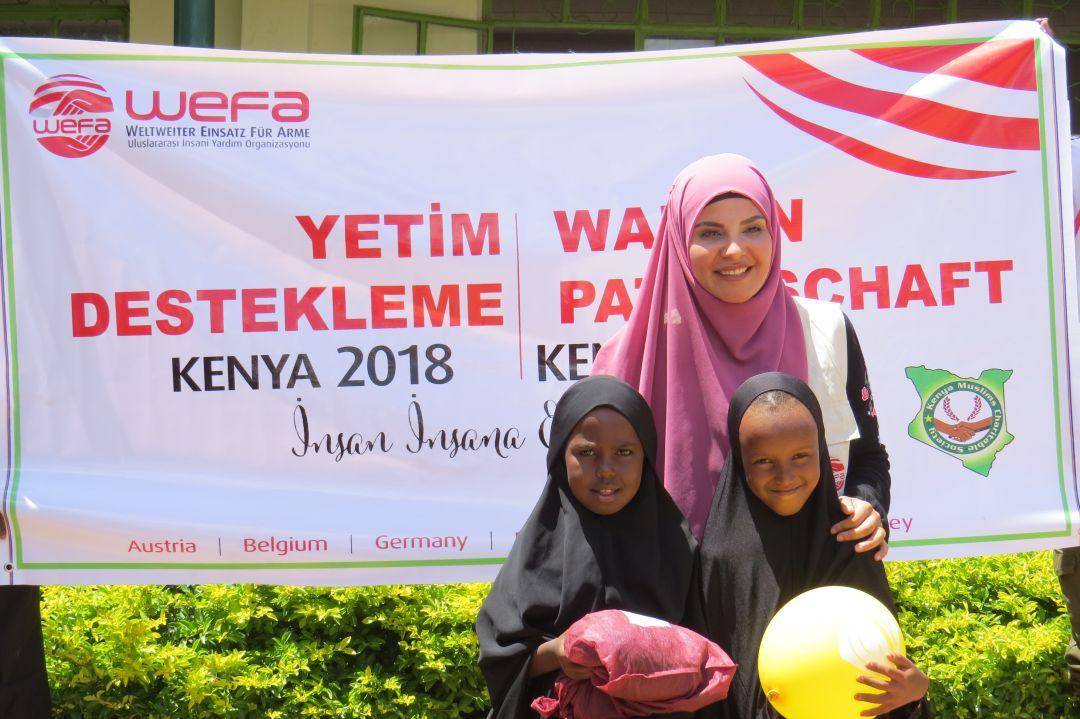 Kenya'ya dair izlenimlerini aktardı.