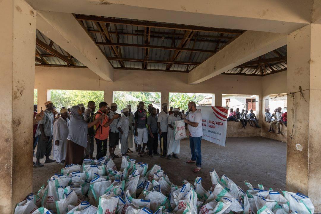 WEFA, Adak ve Akika Kurbanlarınızı Tanzanya'da Kesti