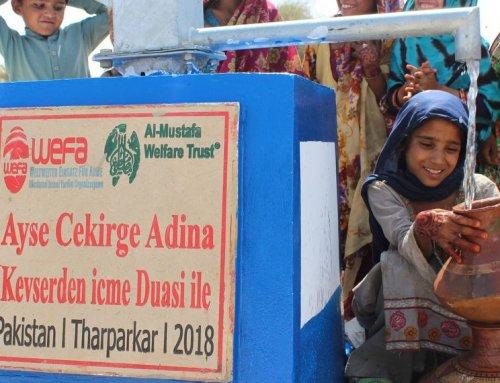 WEFA wird in Pakistan weitere 80 Wasserbrunnen eröffnen