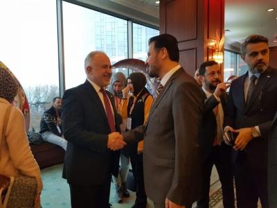 """""""Kızılay Talks 2018"""" konferansına WEFA da katıldı."""