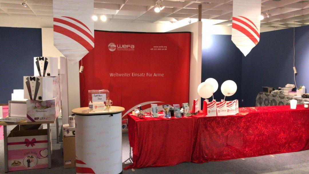 """Almanya'nın Frankfurtkentinde düzenlenen """"KitapveKültür Fuarı""""nda WEFA stant açtı."""