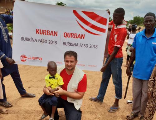Emra Yalçın berichtet über seinenAufenthalt in Burkina Faso