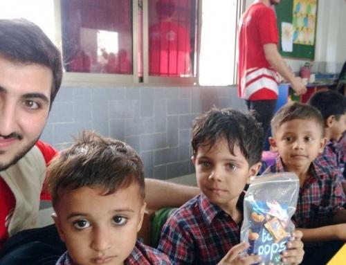 Hilfe für Bedürftige – WEFA Youth reicht Notleidenden die Hand