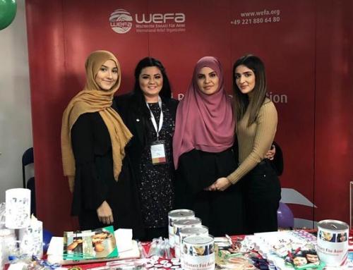 Fest-i Hijab – WEFA eröffnete einen Stand