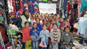 Grundversorgung von Menschen bei Naturkatastrophen