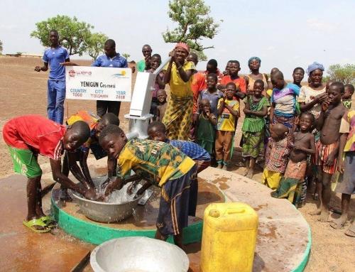 Wasserbrunnen Bauprojekt: WEFA eröffnet 3.935 Trinkwasserbrunnen in 15 Ländern