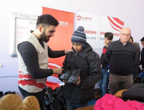 """Winternothilfe in Yüksekova – Eindrücke und Erfahrungsberichte aus der Türkei – """"Glückliche Kinder erfreuen das Herz"""""""