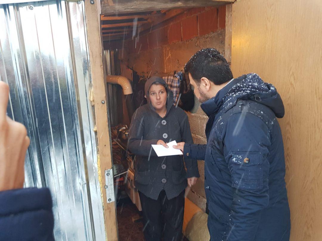 """""""Kış Kampanyası"""" kapsamında Makedonya ve Kosova'ya ziyaret gerçekleştiren WEFA Genel Başkanı bölgedeki kış yardımlarına katıldı."""
