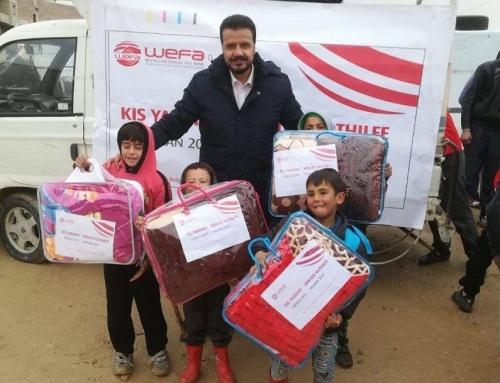 Arsal Kampı'na WEFA'nın Kış Yardımları Devam Ediyor