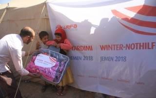 Yemen'e WEFA'dan İnsani Yardım