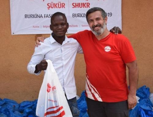 Burkina Faso'ya WEFA'dan Adak, Akika Kurban Yardımı