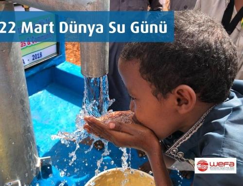 """""""22 Mart Dünya Su Günü"""" Mesajı"""