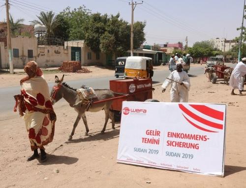 Sudan'daki Muhtaç Aileleri Genç WEFA İş Sahibi Yapıyor