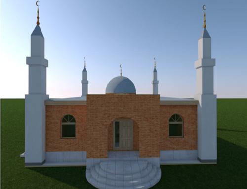 Moğolistan'daki Caminin Temeli Dualarla Atıldı