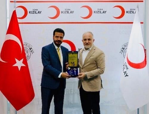 Türk Kızılay Genel Başkanına WEFA'dan Ziyaret