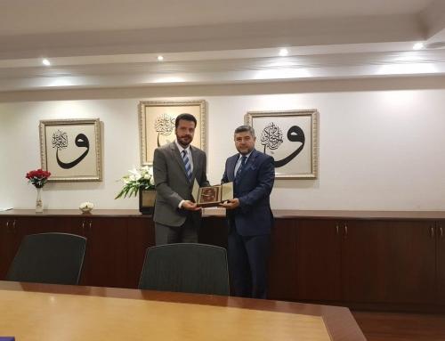 Türkiye Diyanet Vakfı'na WEFA'dan Ziyaret