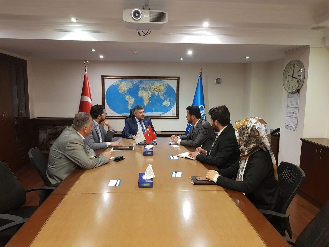 WEFA Uluslararası İnsani Yardım Organizasyonu Genel Başkanı, Türkiye Diyanet Vakfı'na nezaket ziyareti gerçekleştirdi.