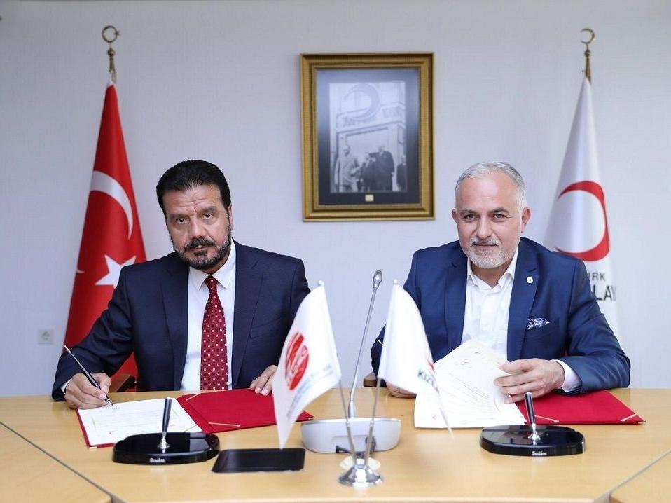 Türk Kızılay ve WEFA Uluslararası İnsani Yardım Organizasyonu arasında işbirliği protokolü imzalandı.