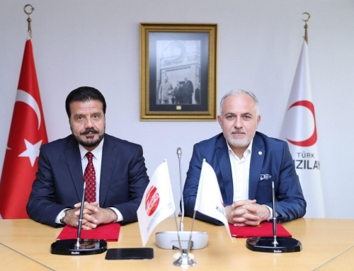 Koorperation – WEFA und der Türkische Halbmond arbeiten zusammen