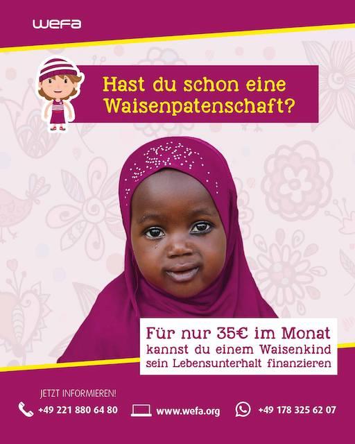 Waisenpatenschaftfür35€