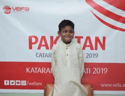 Pakistanlı Yetim Sağlığına Kavuşturuldu
