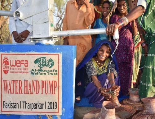 Afrika ve Asya'ya WEFA'dan 567 Yeni Su Kuyusu