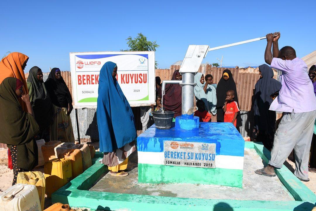 Su Kuyusu projesi kapsamında Asya ve Afrika'da açtığı su kuyuları ile milyonlarca insanı suyla buluşturan WEFA Uluslararası İnsani Yardım Organizasyonu 2019 yılı sonuna kadar 567 su kuyusunu daha hizmete açmayı planlıyor.