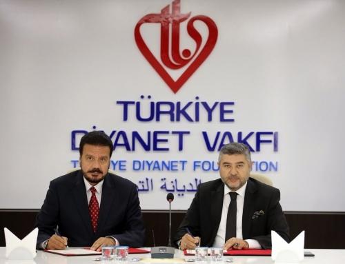 Türkiye Diyanet Vakfı ve WEFA İşbirliği Protokolü İmzaladı