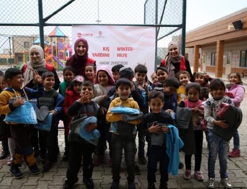 Türkiye: Reyhanlı Eğitim Köyü'ndeki Suriyeli Yetimlere WEFA'dan Kış Yardımı