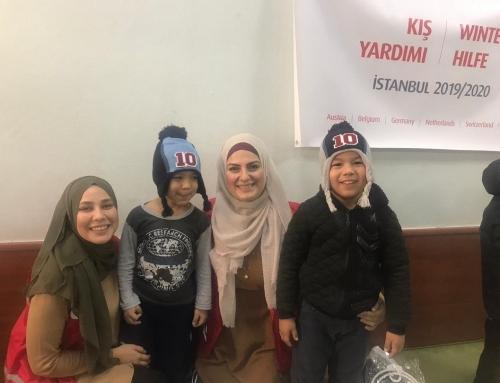 İstanbul'daki Yetimler WEFA İle Isındı